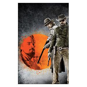 Django Unchained. Размер: 25 х 40 см